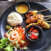 Chicken Satay @ Cosmic Bar