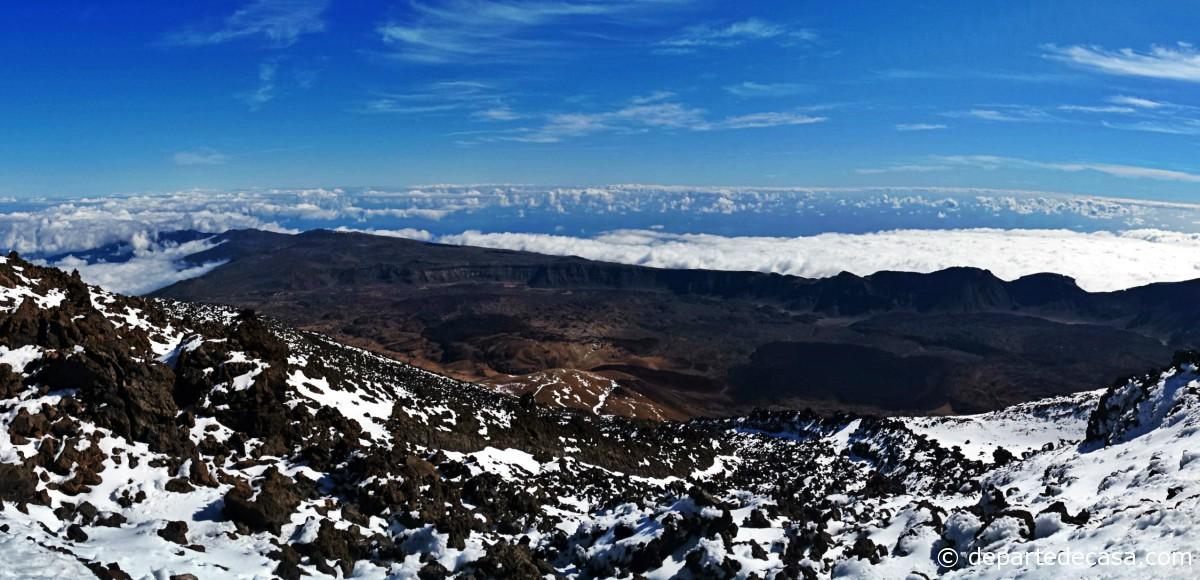 Panorama de pe Teide