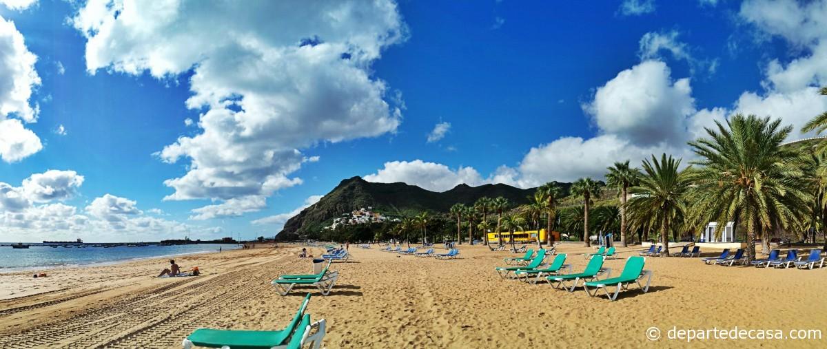 Plaje Tenerife, las Teresitas