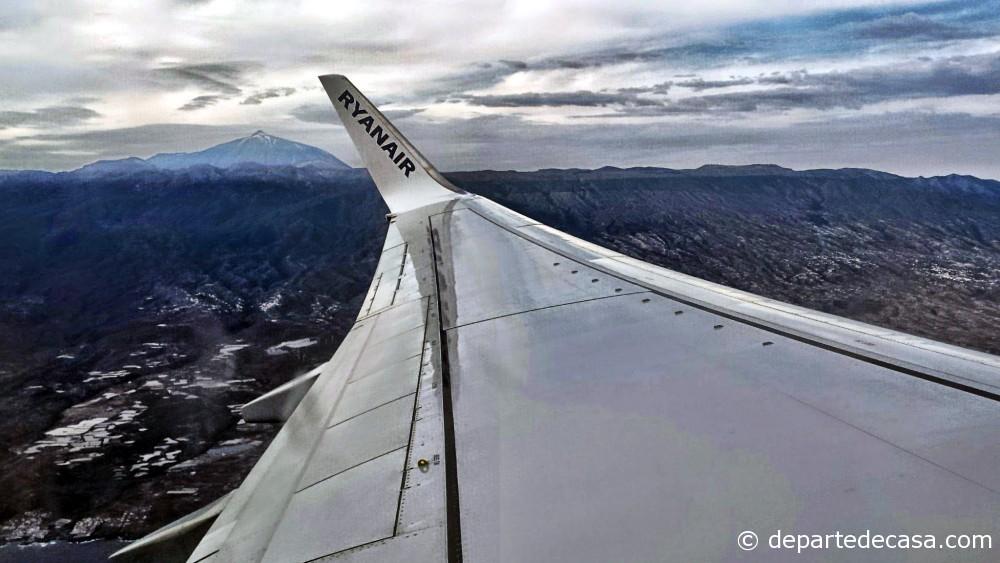 Ryanair Tenerife, Teide