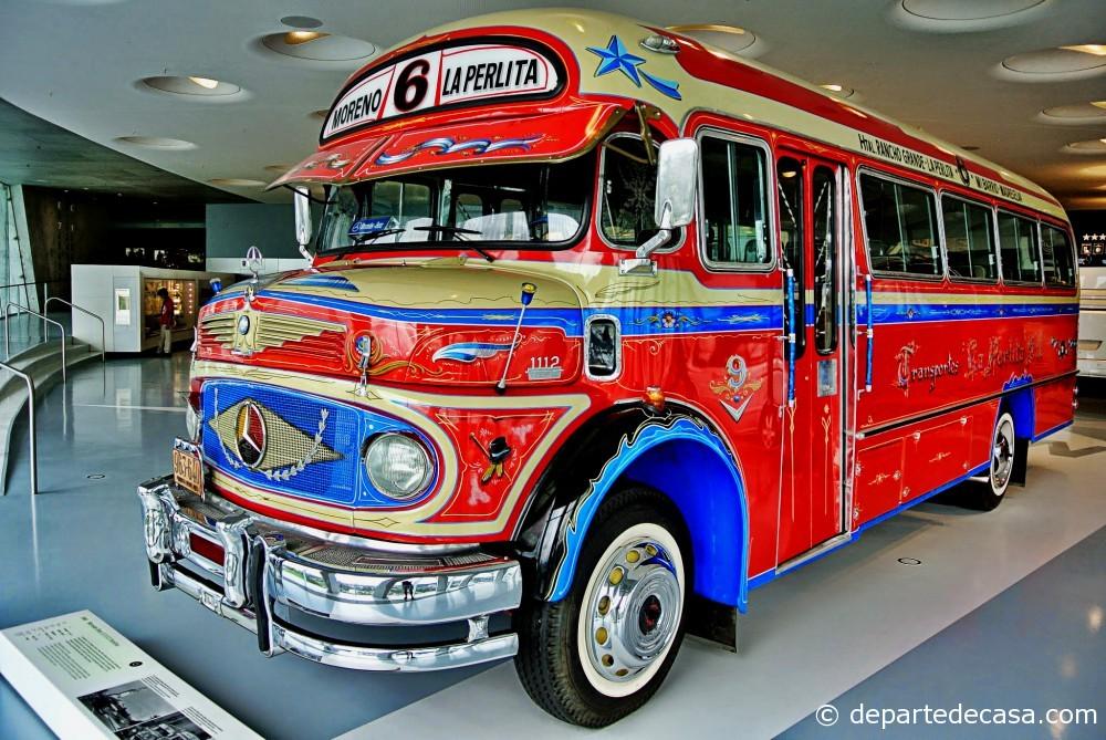 Argentinian coach bus @ Mercedes-Benz Museum Stuttgart
