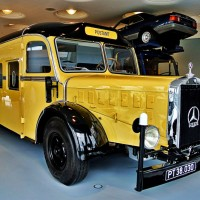 Deutsche Post Bus @ Mercedes-Benz Museum Stuttgart