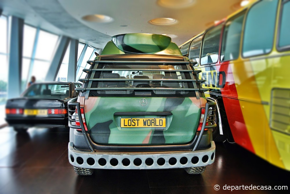 Lost world car @ Mercedes-Benz Museum Stuttgart