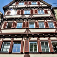 Half timbered house in Esslingen