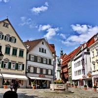 Esslingen old city center