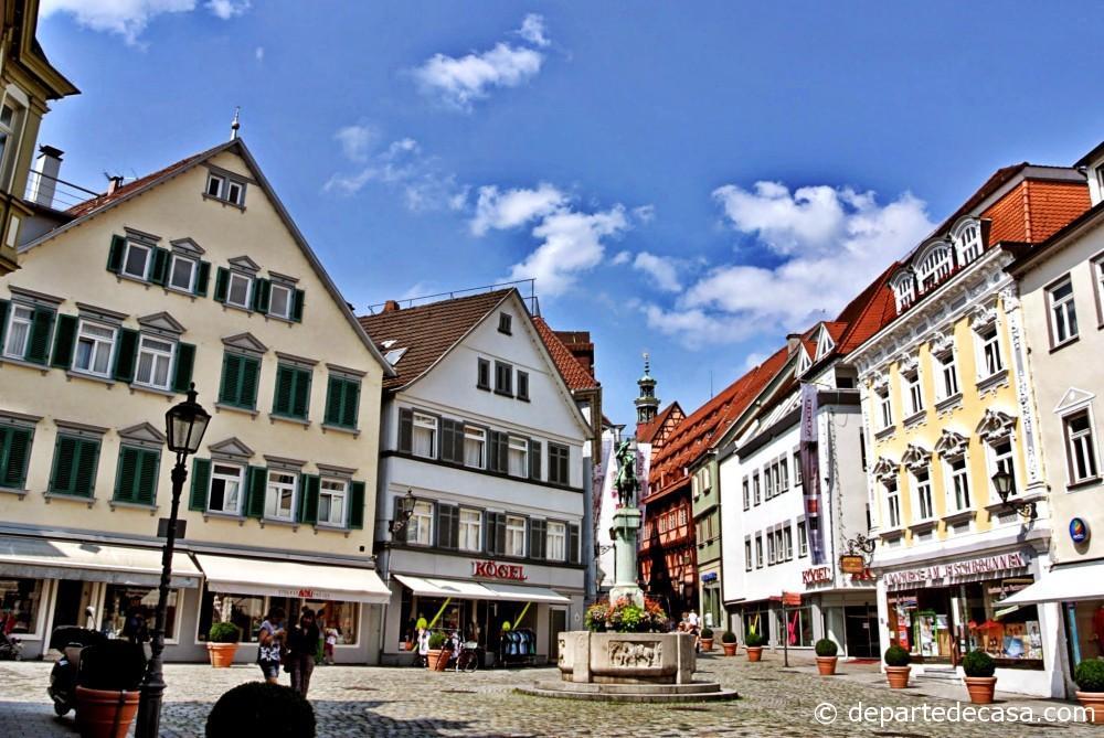 Esslingen old city center