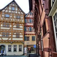 Esslingen half timbered houses