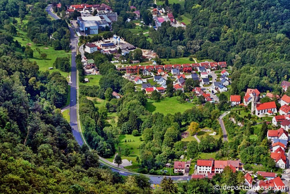 Panorama Schloss Lichtenstein