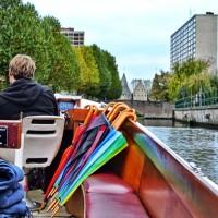turistic boat Ghent