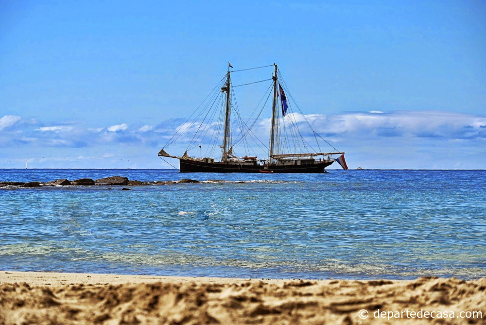 Playa de Los Cristianos, plaje din Tenerife