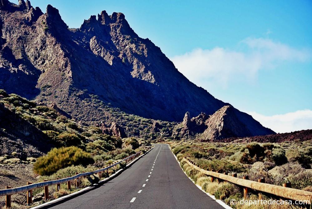 Drumul spre vulcanul Teide