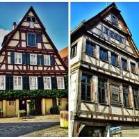 Half timbered houses in Tubingen