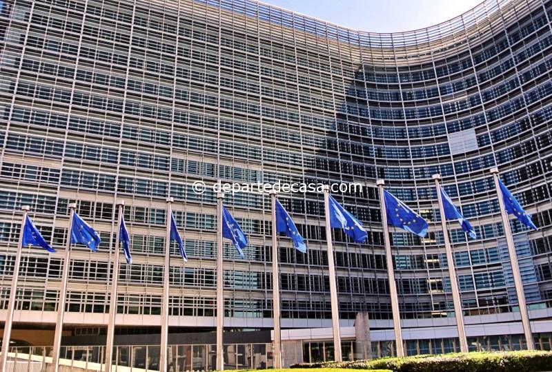 obiective turistice Bruxelles: Cladirea Berlaymont, sediul Comisiei Europene