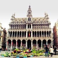 The King's house (Maison du Roi / Broodhuis) Grand Place Bruxelles