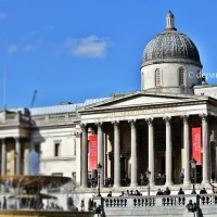 Galeria Nationala si Trafalgar Square