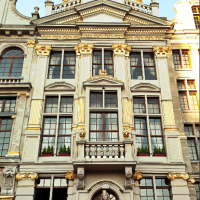 De Gulden Boot Guild Houses Grand Place Bruxelles