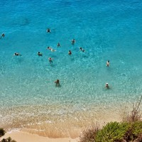 plaje din lefkada grecia - Porto Katsiki