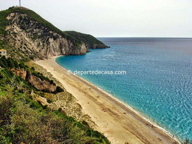 Plaja Mylos Lefkada Grecia