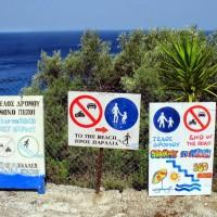 350 trepte pana la plaja Egremni Lefkada