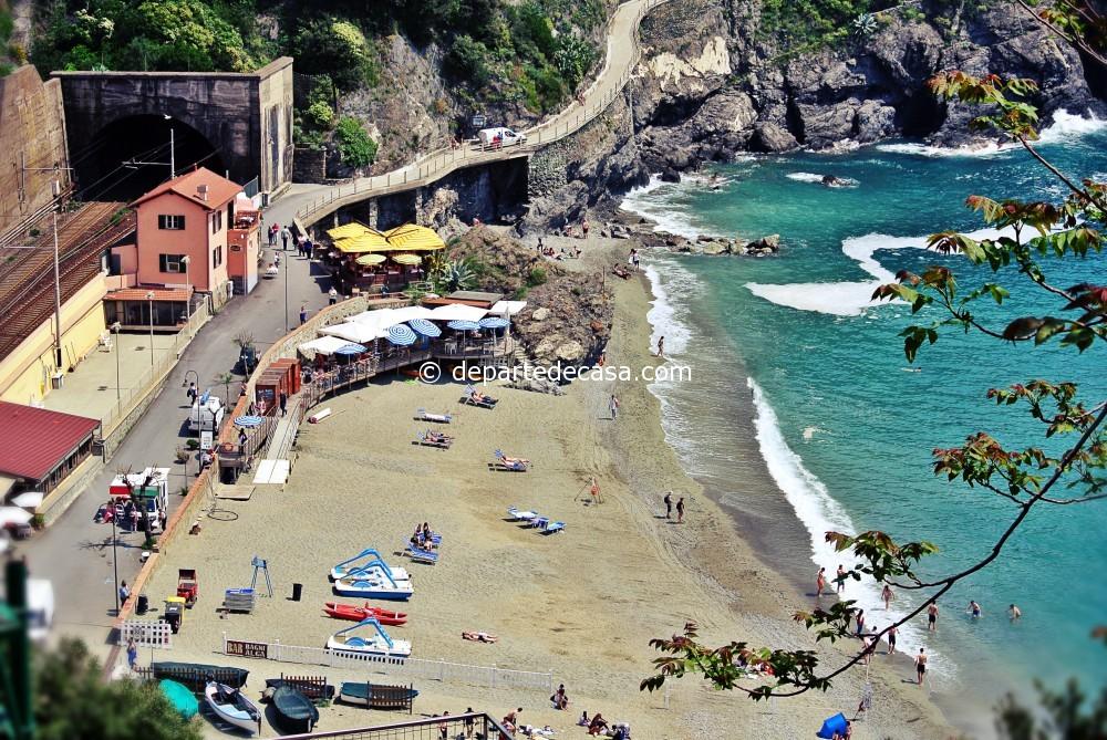 Monterosso beach, Cinque Terre