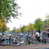 Biciclete, canale, Amsterdam