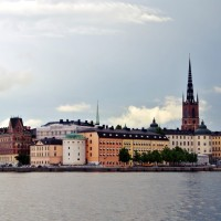 Gamla Stan si biserica Riddarholmskyrkan