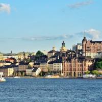 Söder mälarstrand vazut de la Stadshuset Stockholm