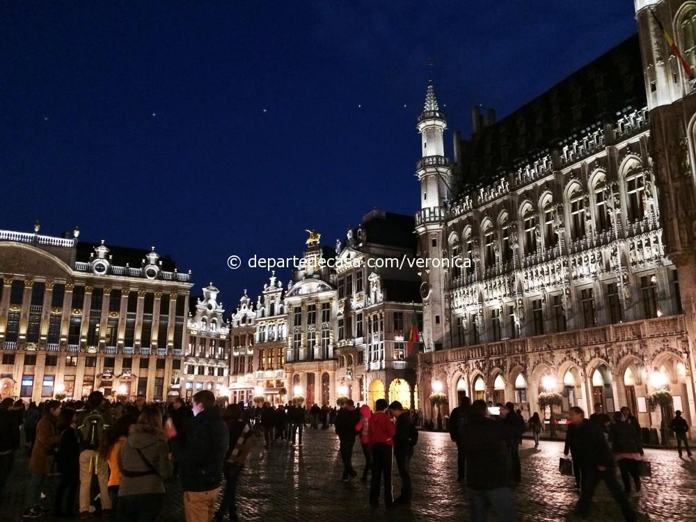 Grand Place noaptea