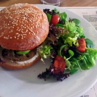Burger vegetarian @ Simbio