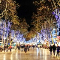Barcelona in decembrie