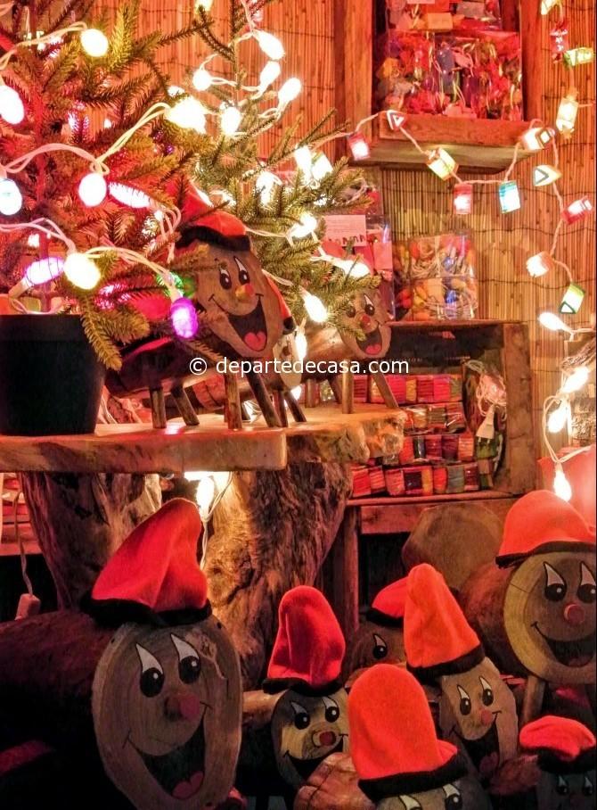 Caga Tio, târgul de Crăciun din Barcelona