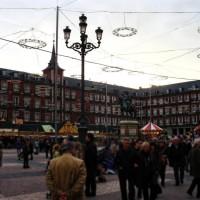 târgul de Crăciun din Madrid