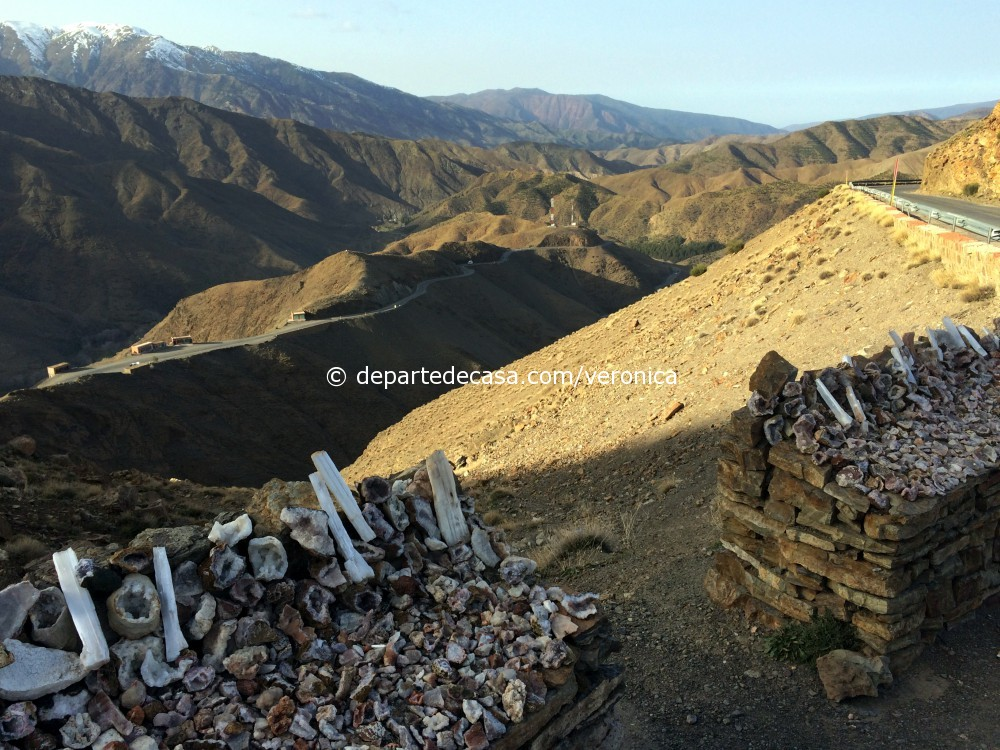 Trecătoarea Tizi-n-Tichka din Munții Atlas