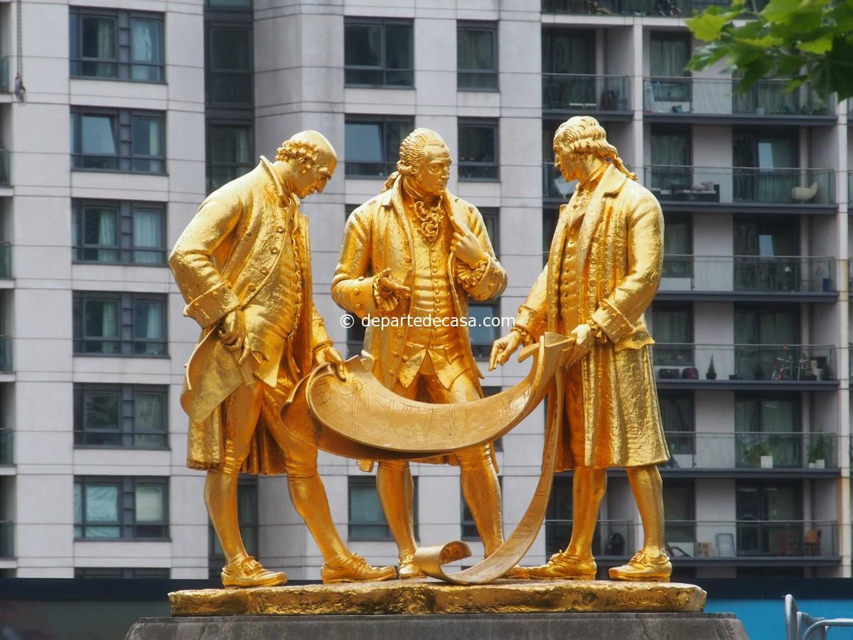 Statuia de aur a lui Boulton, Watt si Murdoch