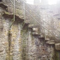 North of Wales - Conwy Castle Wall