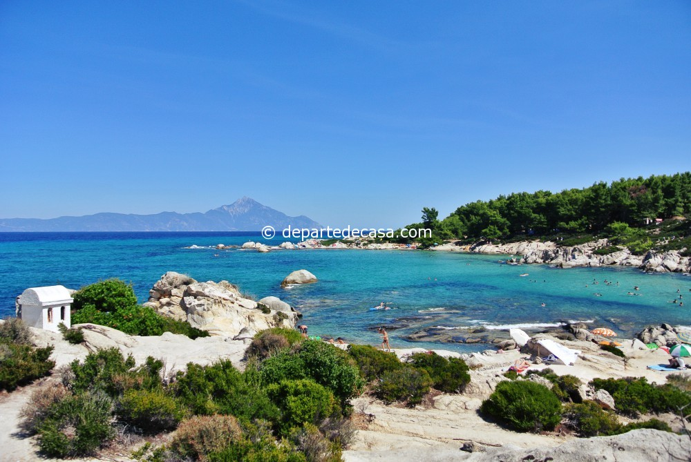 plaje din sithonia,Portokali