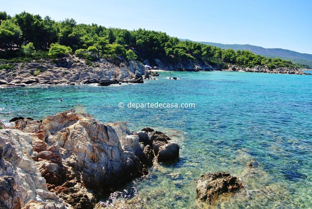 plaje din sithonia, Portokali