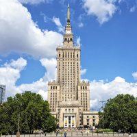 obiective turistice din Varșovia Palatul Culturii si Stiintelor, PKiN