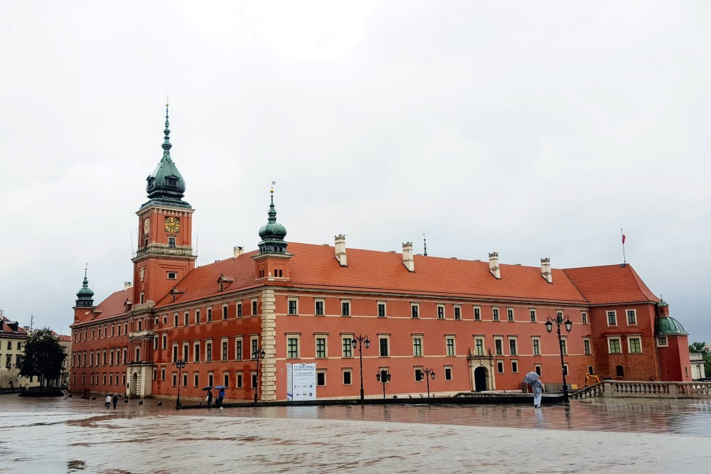 Plac Zamkowy Piața Palatului Palatul Regal