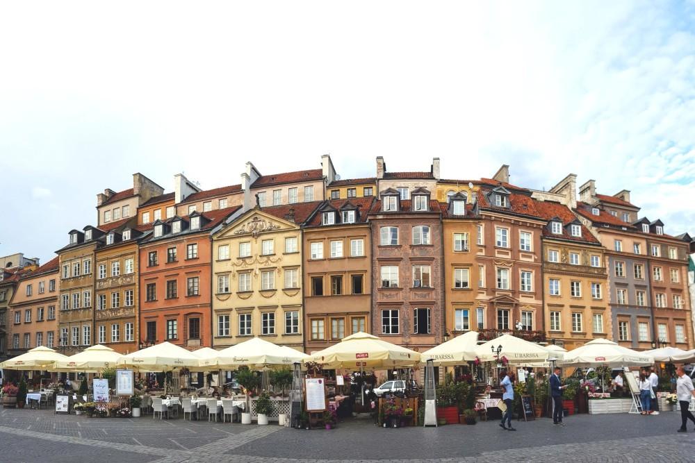 Stare Miasto, centrul vechi