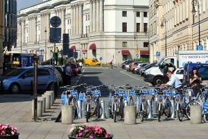 Inchirieri biciclete Varsovia