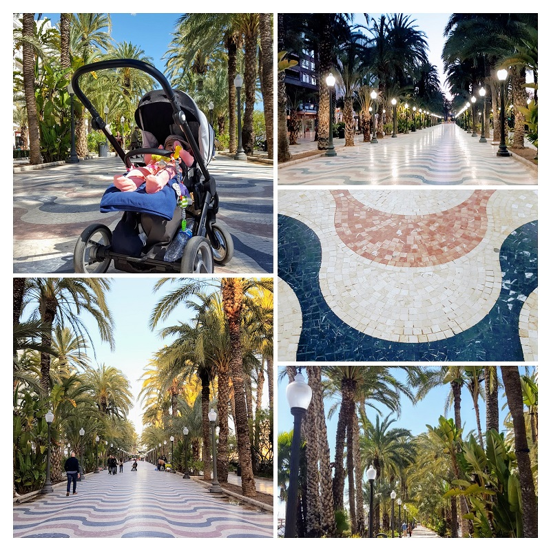 Obiective de vizitat in Alicante -  paseo explanada