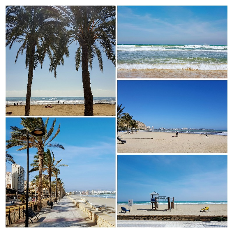 Obiective de vizitat in Alicante - plaja postiguet