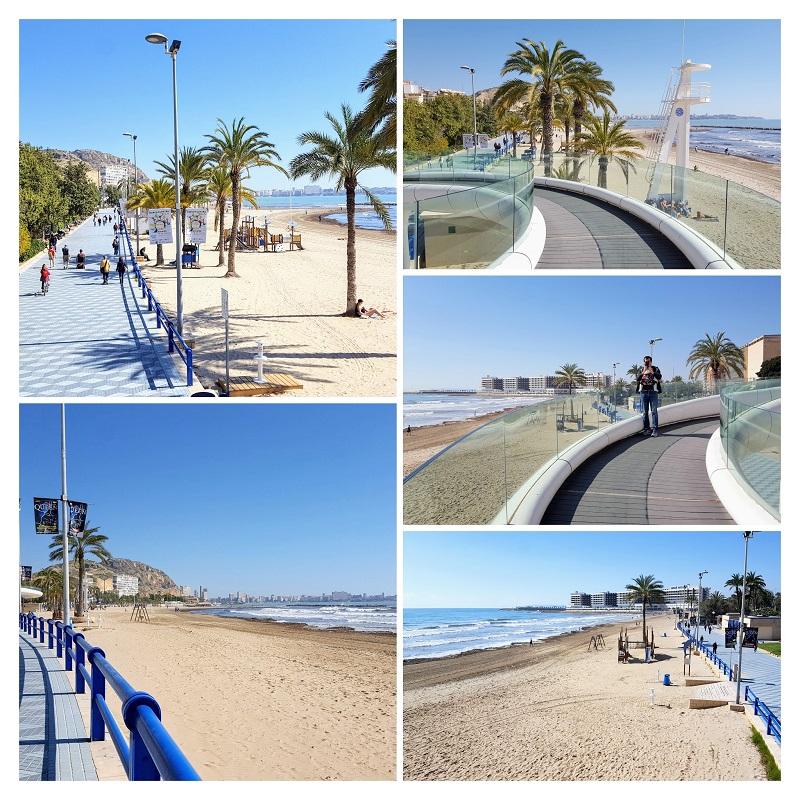 Obiective de vizitat in Alicante, paseo de Gomiz