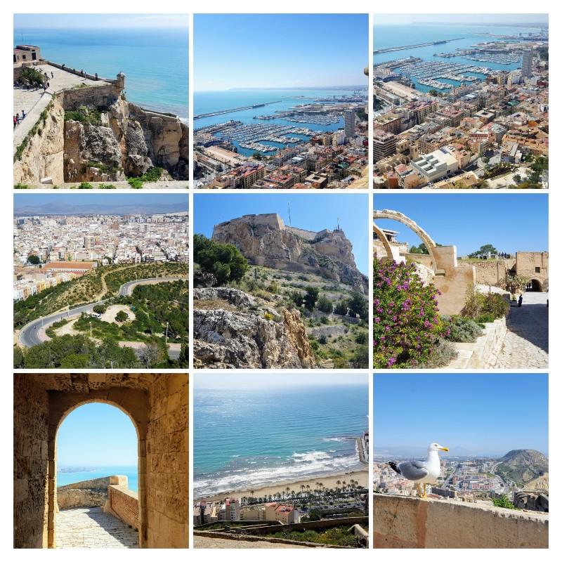 Obiective de vizitat in Alicante, castelul Santa Barbara