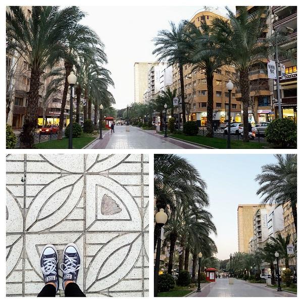Obiective de vizitat in Alicante, Rambla Mendez Nunez