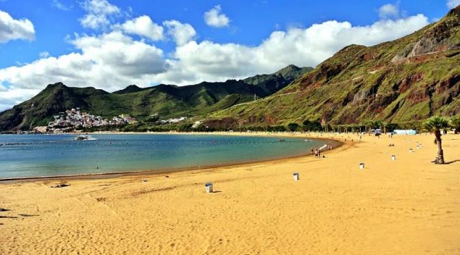 Vreme de plaja in Tenerife