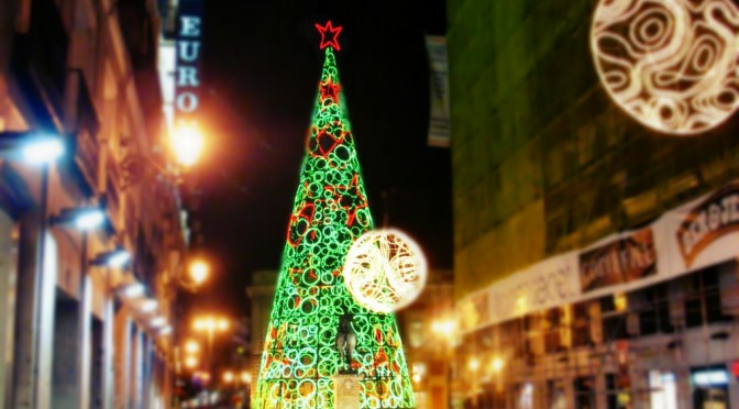 Madrid in decembrie