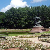 Monumentul Chopin Parc Lazienky