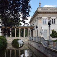 Palatul de pe insula, Park Lazienky